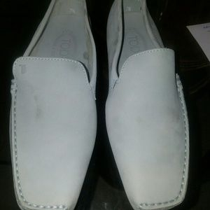 Tod's loafers for woman baby blue 7.5